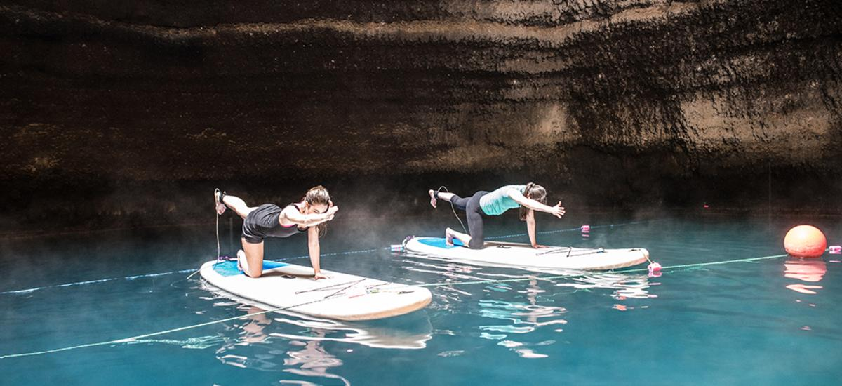 First Timers - Paddleboard Yoga