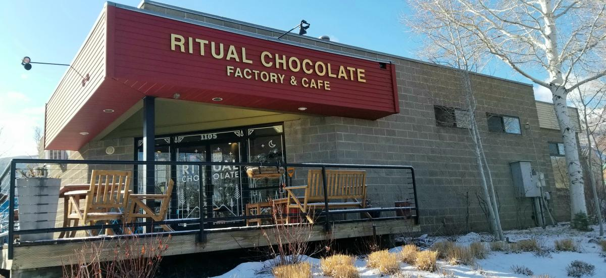 Exterior view of Ritual Chocolate Factory