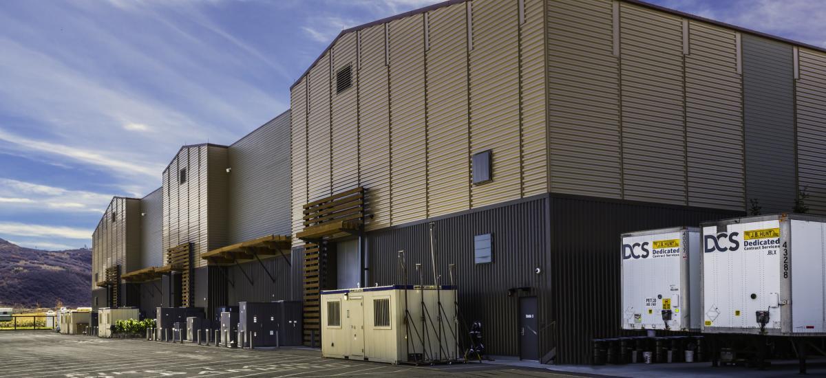 Exterior of Utah Film Studios