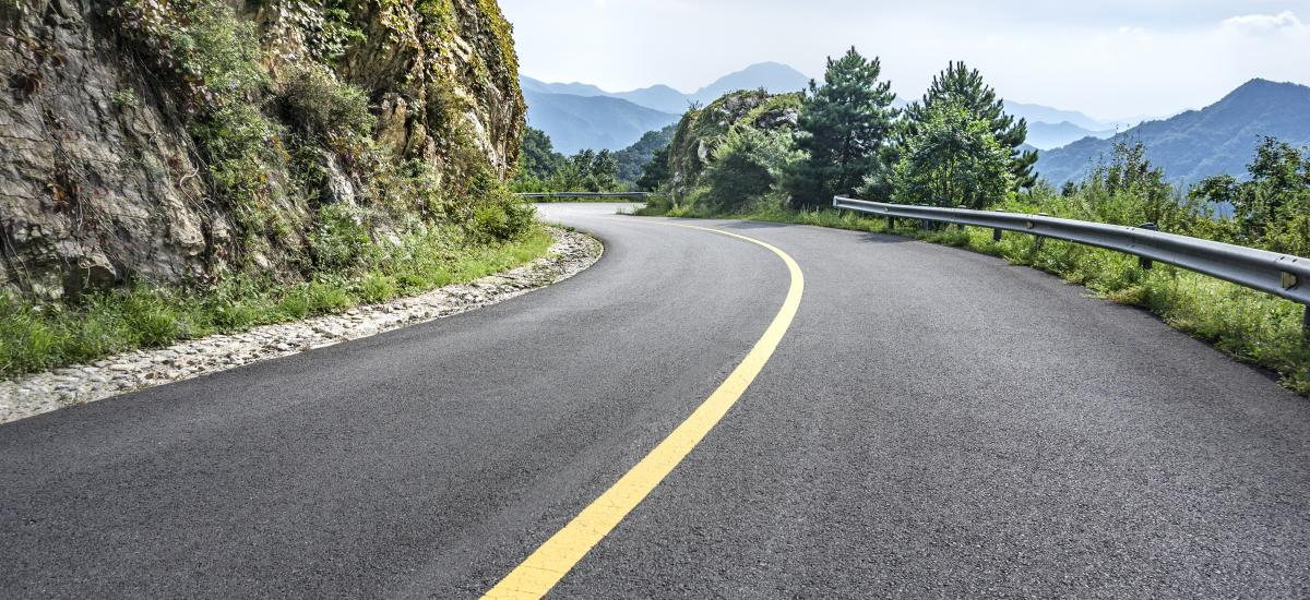 Hit the open road and enjoy a road trip the beautiful mountains of Park City, Utah.