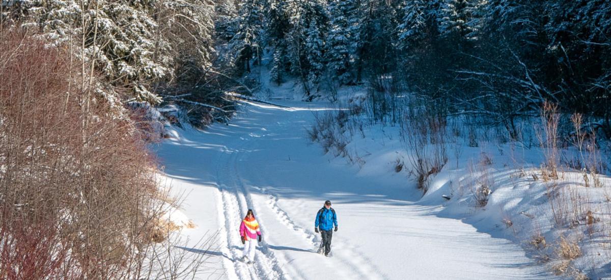RR - Snowshoeing blog