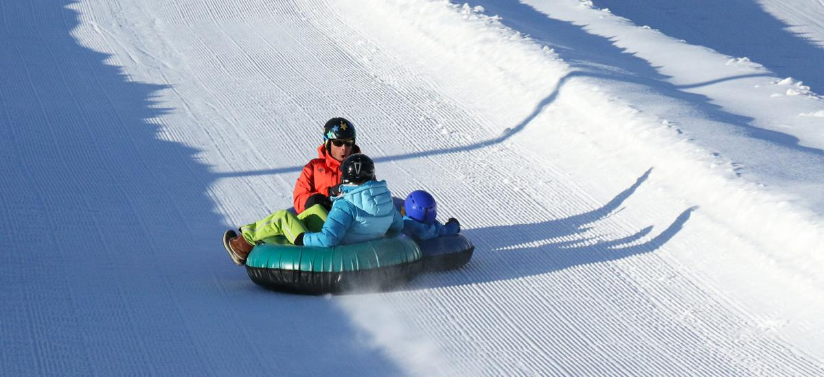 Tubing at Gorgoza Park in Park City, Utah