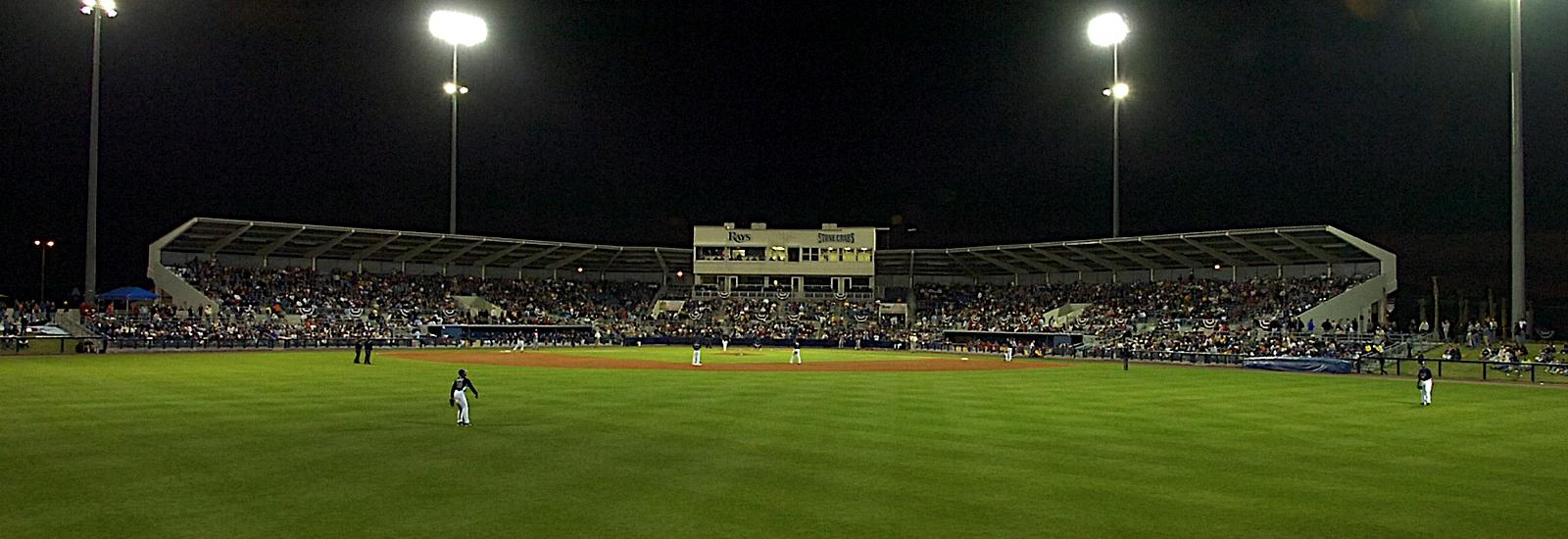 Charlotte Sports Park:  MLB Rays Spring Training & Charlotte Stone Crabs