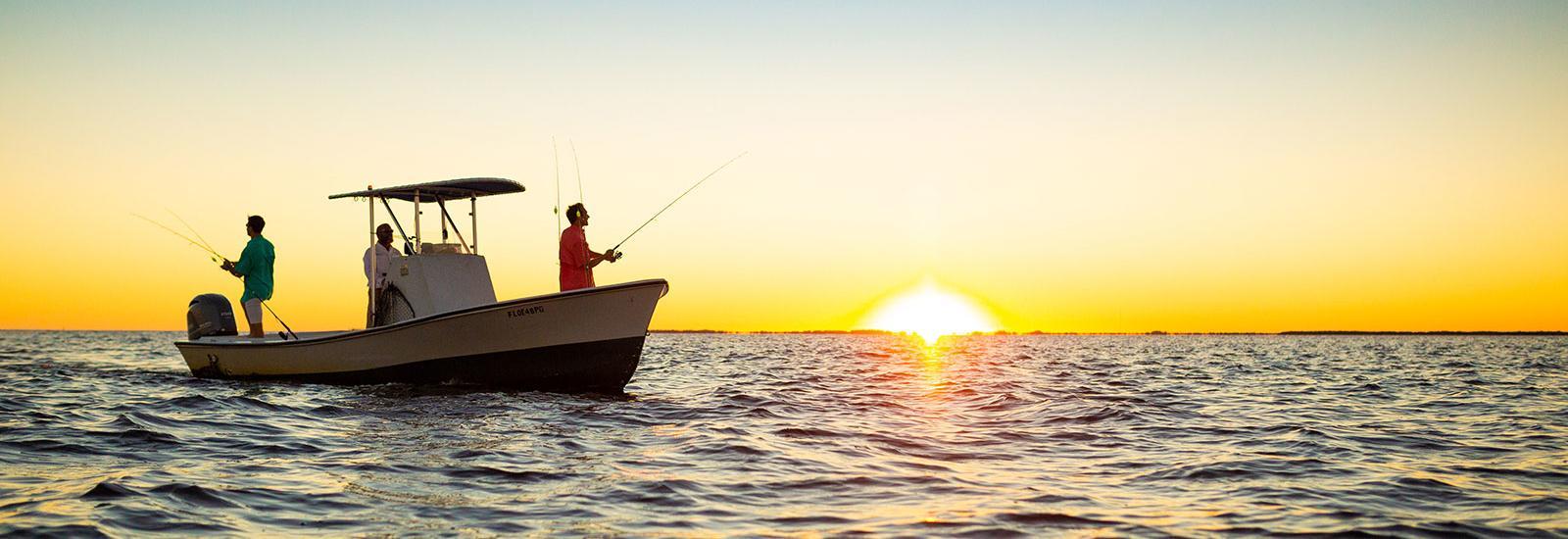 Sunset Fishing in Punta Gorda, Florida