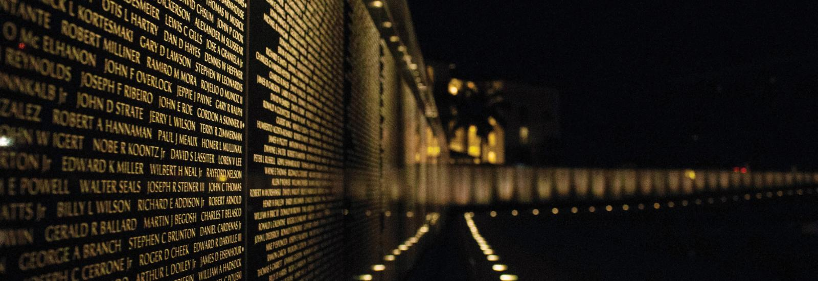Vietnam Memorial Wall of SWFL