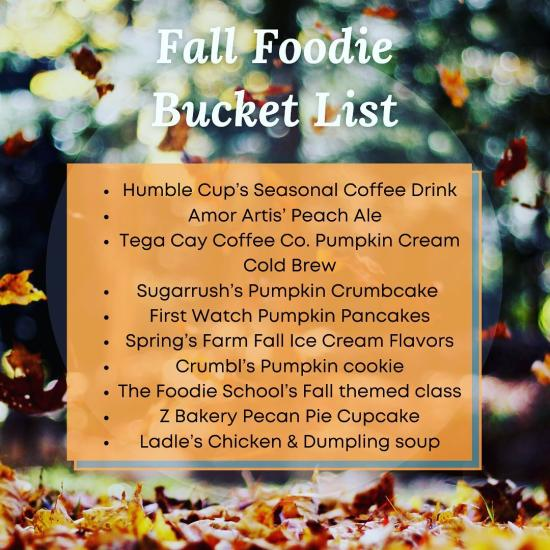 Tastefully True Fall Bucket List