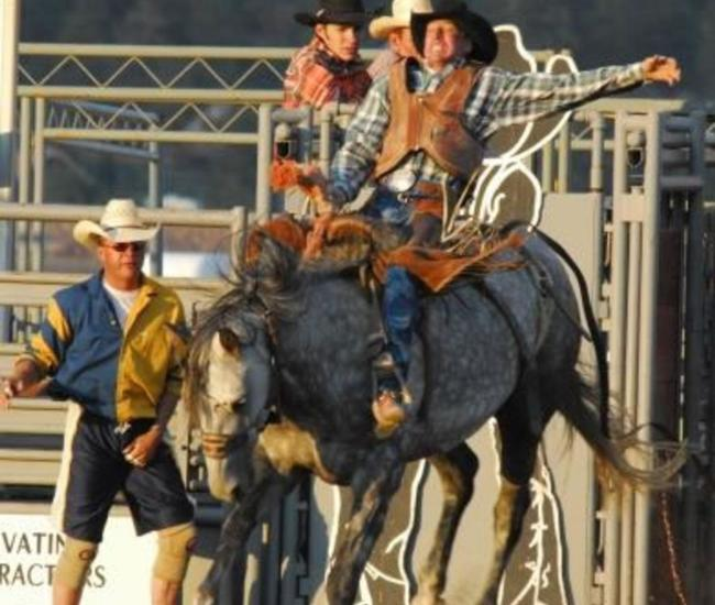 The Rooftop Rodeo in Estes Park, Every Summer