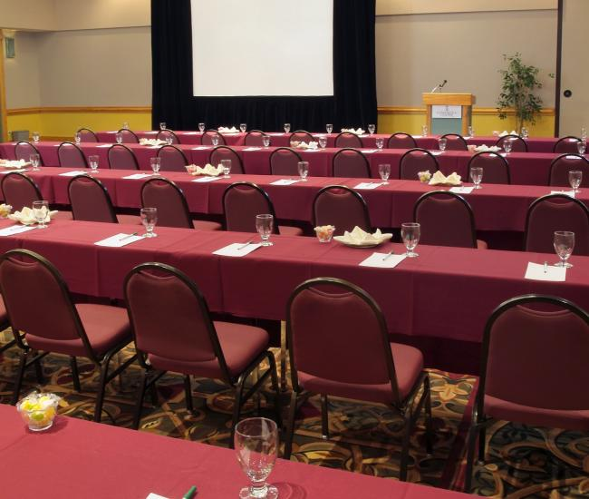 The Estes Park Conference Center Offers Traditional Meeting Spaces