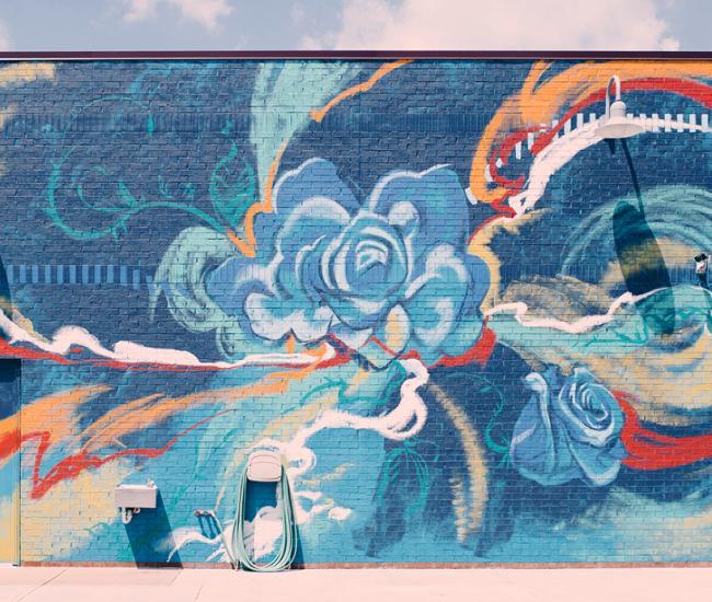 Handel's Mural in Fishers, IN