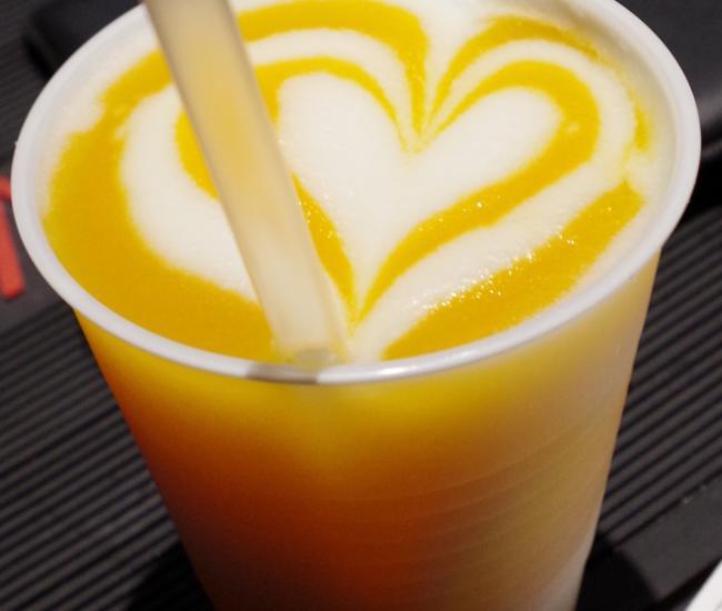 Mango Swirled Pina Colada