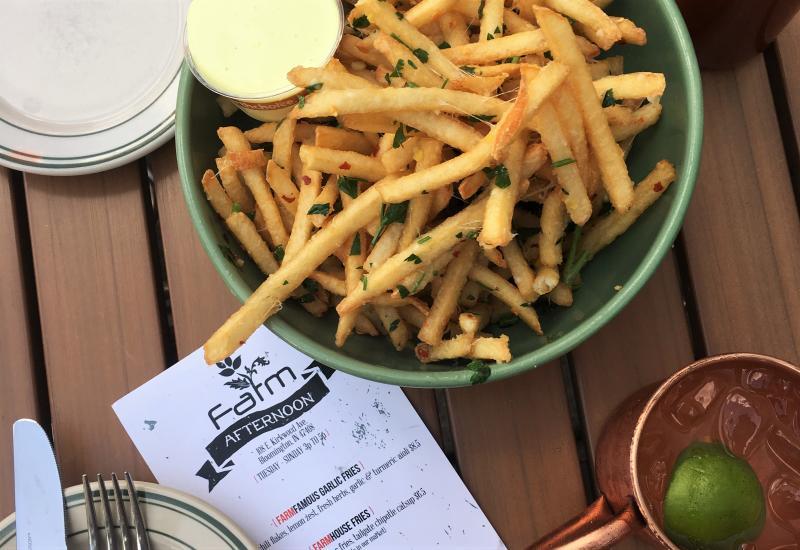 FARMFamous Garlic Fries from FARMbloomington