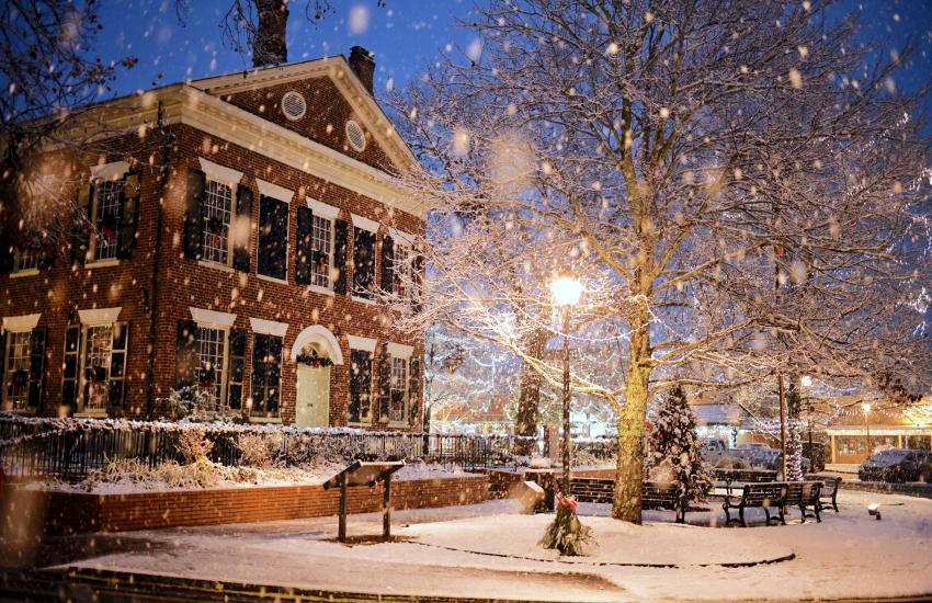 Gold Museum - Snow