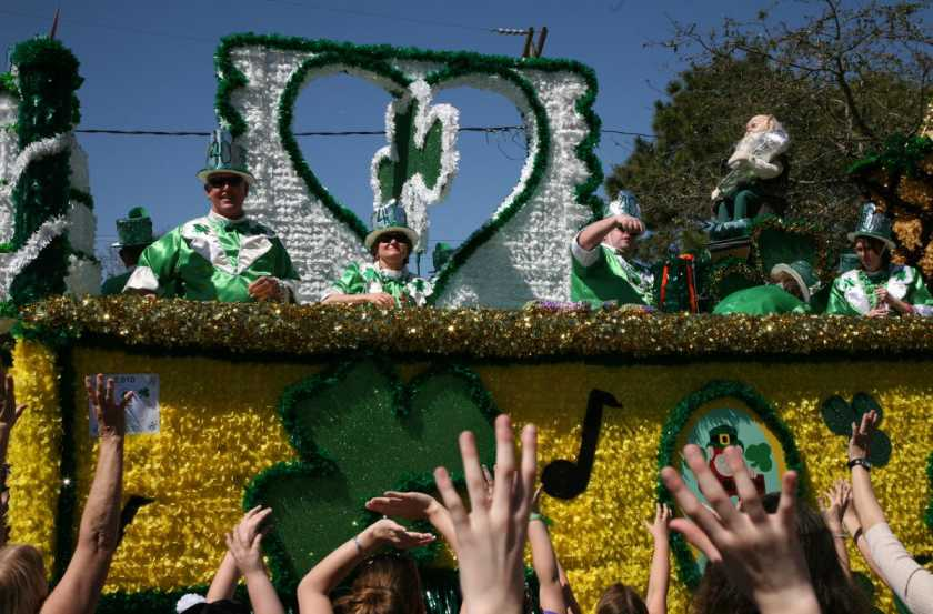 Old Metairie St. Patrick's Parade