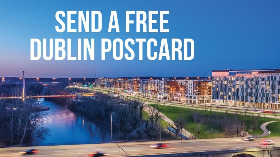 Send a Free Dublin Postcard
