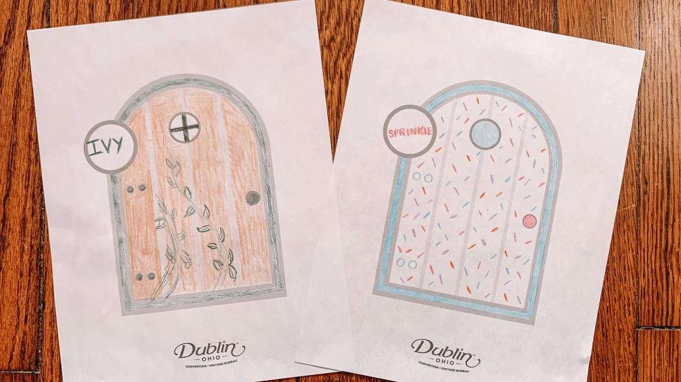 Sample Fairy Doors