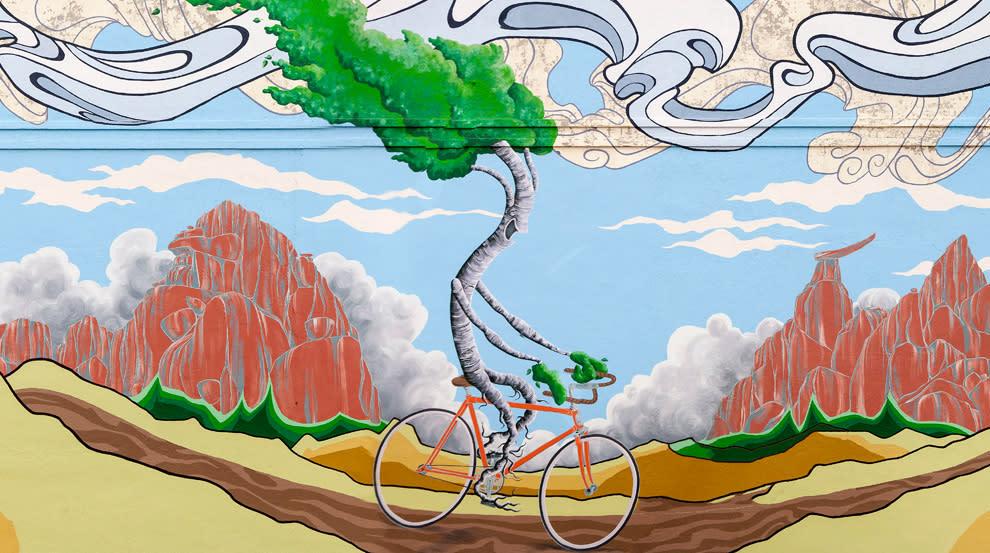 Escape, 2012 mural