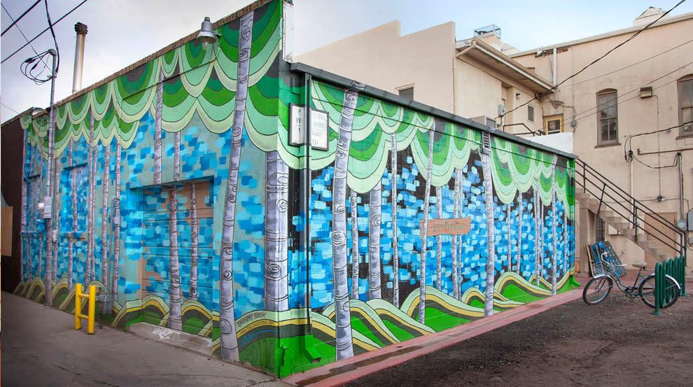 Grainery Grove, 2011-2013 mural