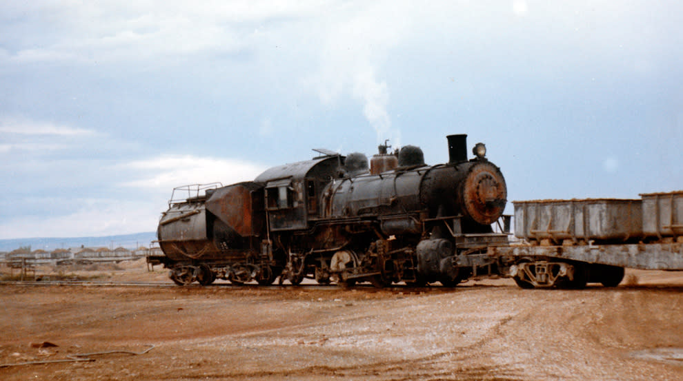 Laramie-Valley-RR-engine 4455 in 1967.