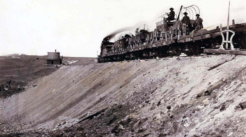 The U.P. track builders