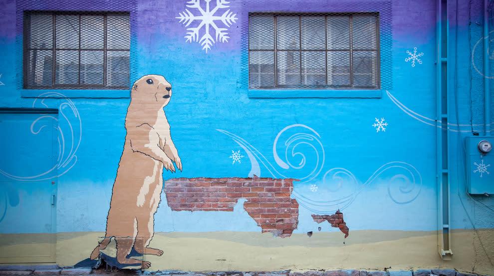 Prairie Dog Town, 2013 mural
