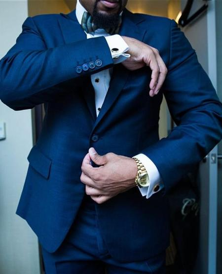 A bespoke hand made suit from Capital Custom Clothiers