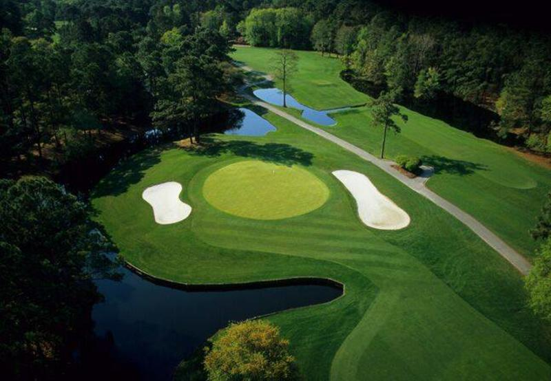 Aerial of Litchfield Country Club golf course