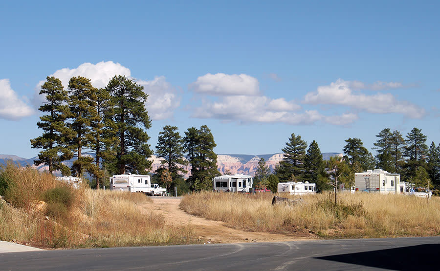 bryce campgrounds rv