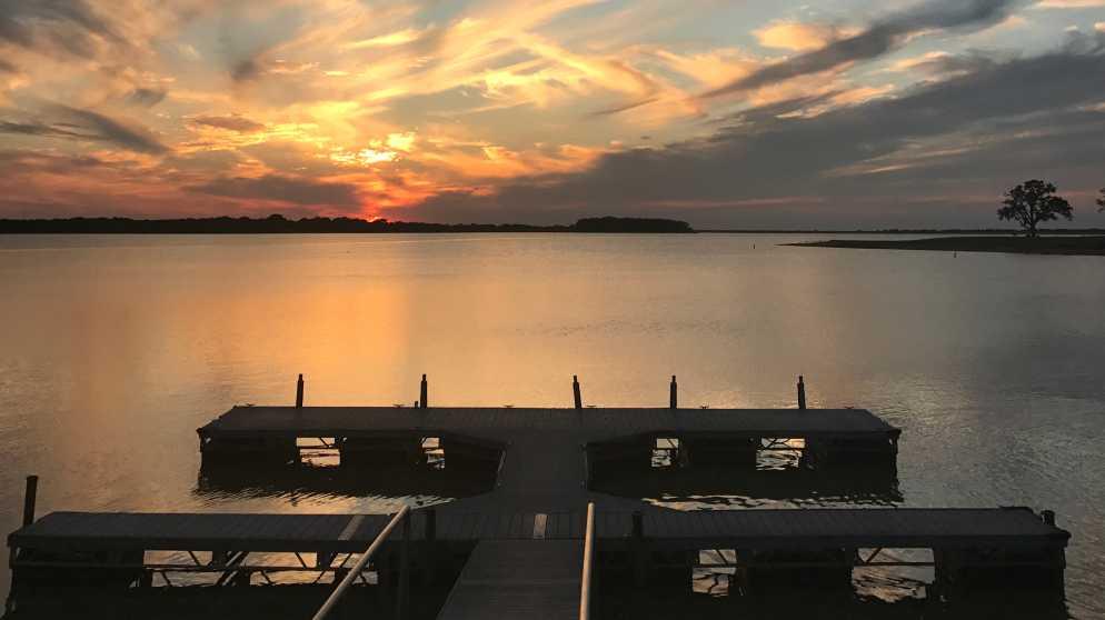 Lake Bryan Sunset