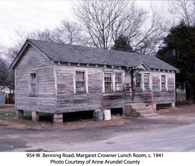 Margaret Crowner's Cook Shop, c. 1941.