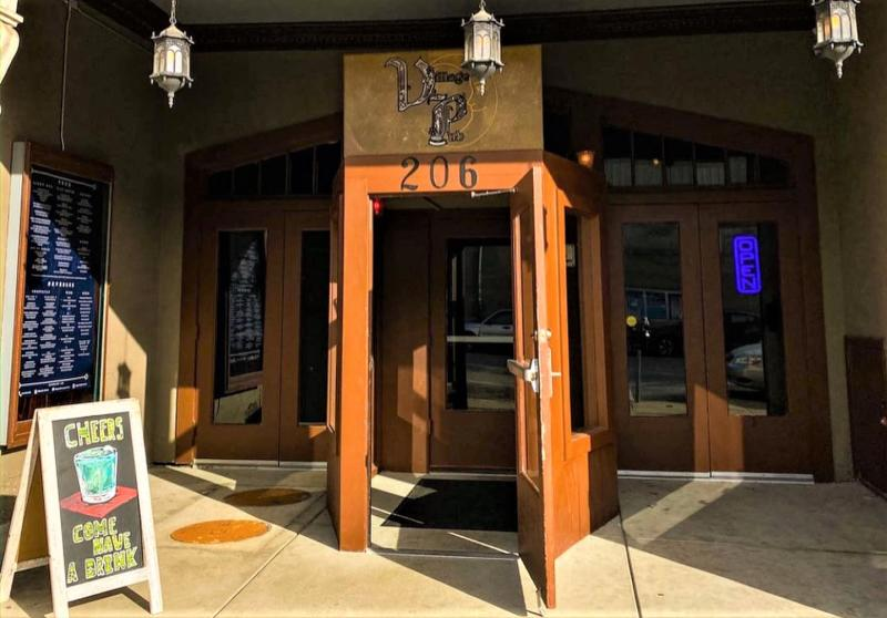 Entrance to the Village Pub