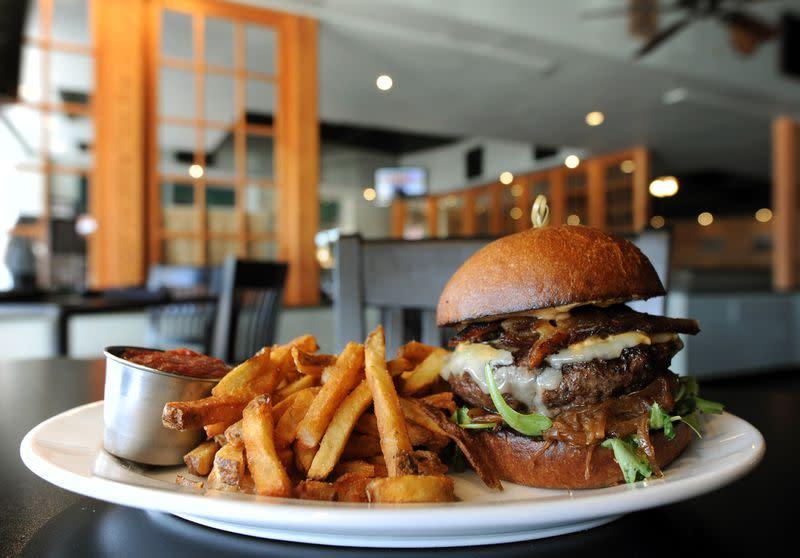 White Oak Tavern Burger