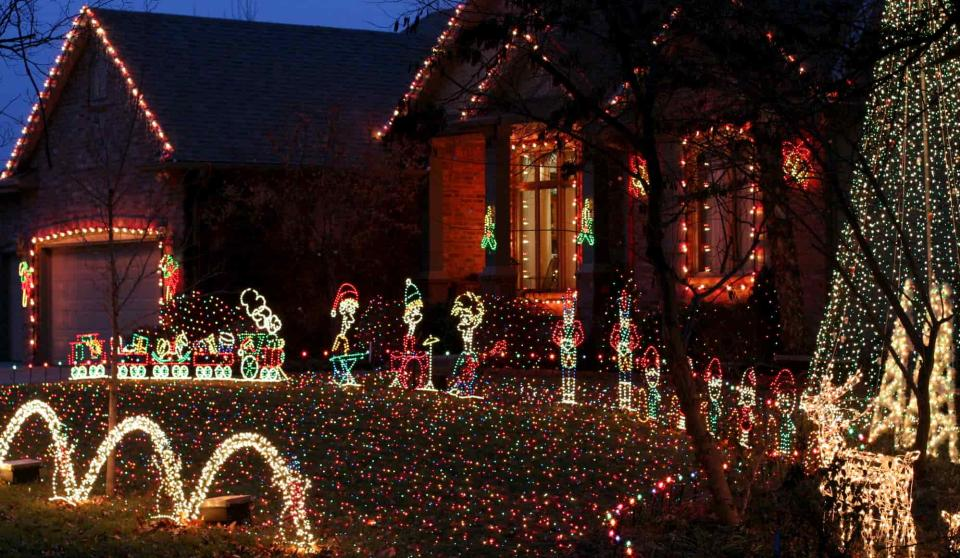 Magic of Christmas Light Display