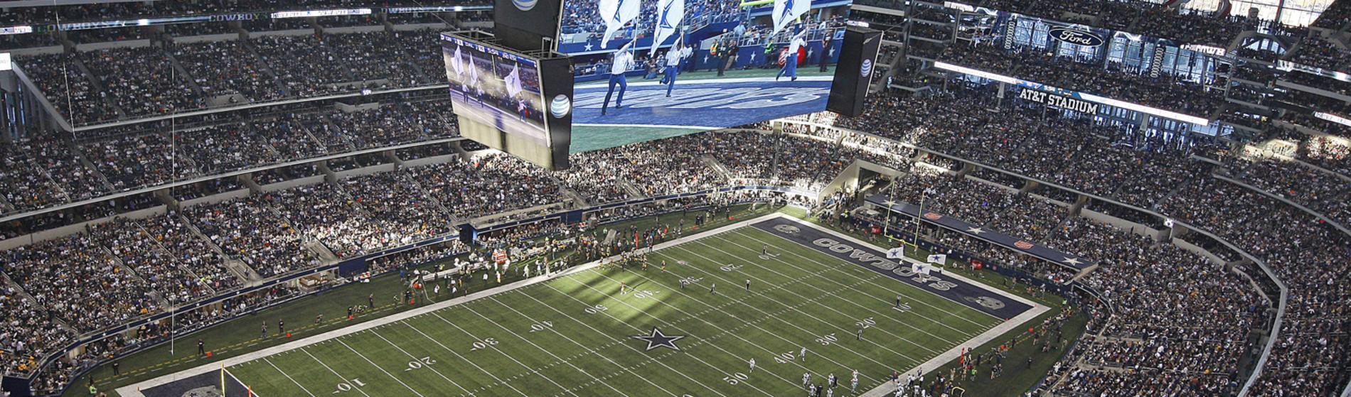 AT&T Stadium Sports Hero Image