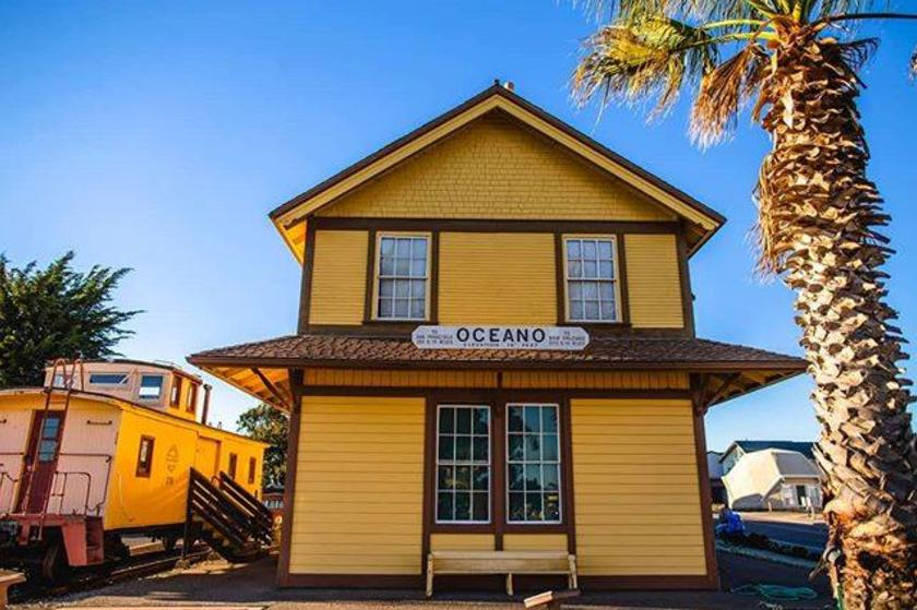 Oceano Train Depot