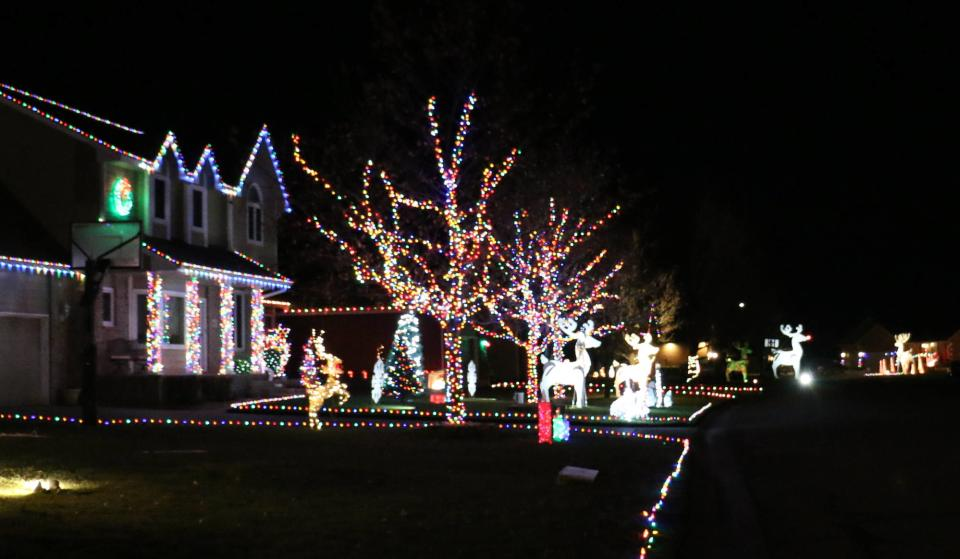 Reindeer Road Christmas Lights 2020