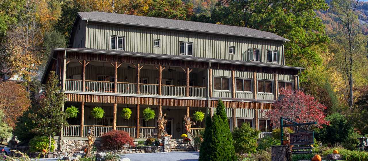 Esmeralda Inn in Chimney Rock, NC}