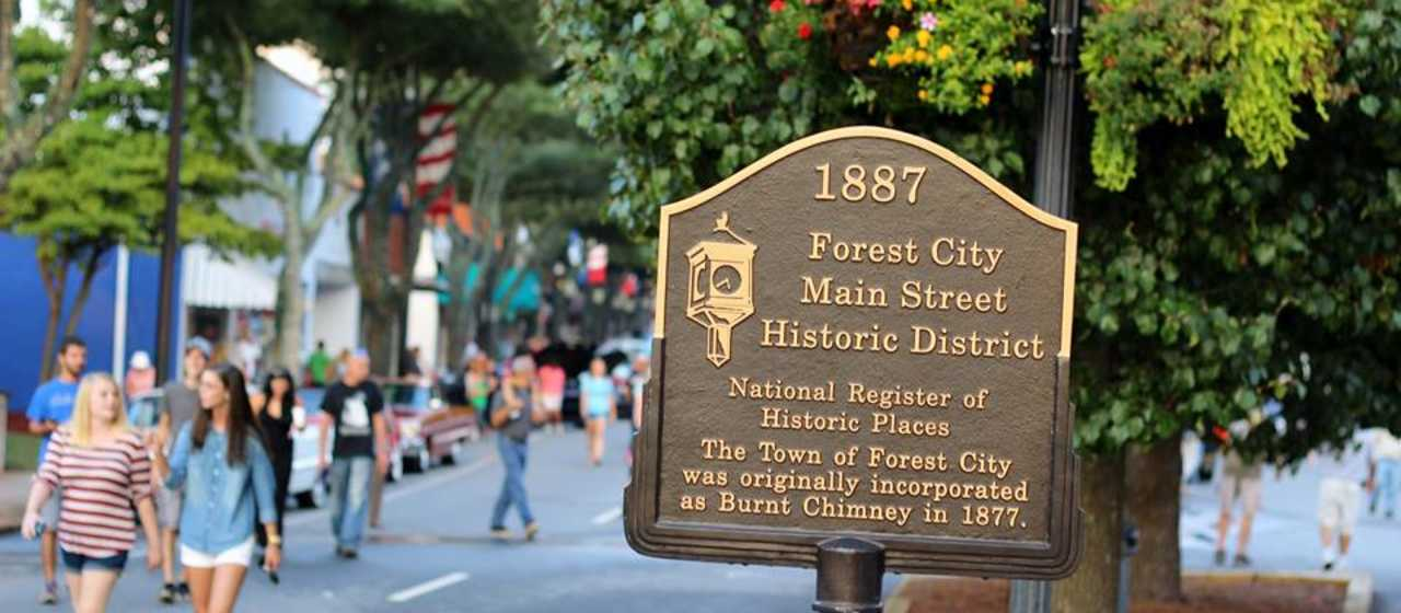 Historic Downtown Forest City}