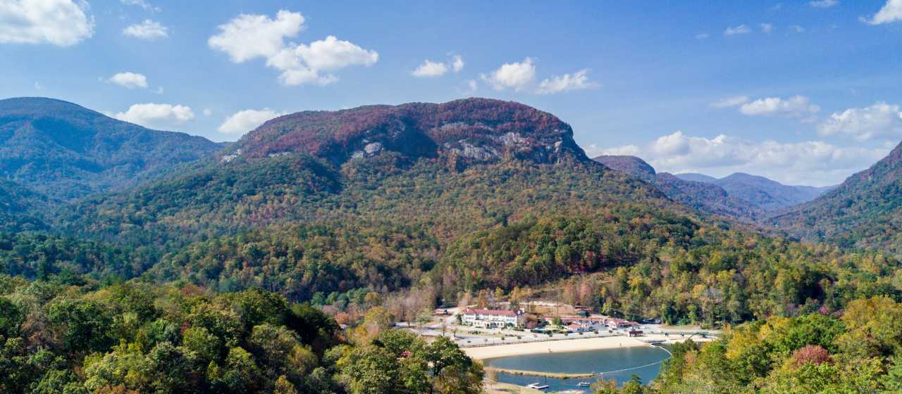 Early fall in Lake Lure}