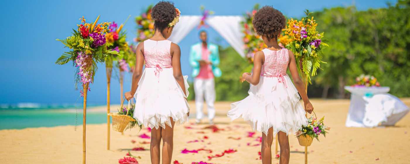 Saying I do Wedding Ceremony