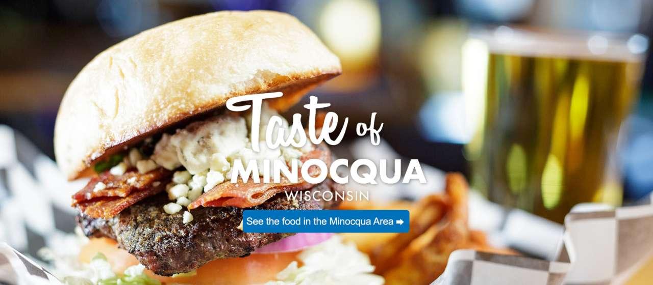 taste of minocqua burger