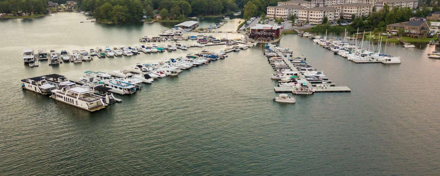 Lake Murray aerial shot - Liberty