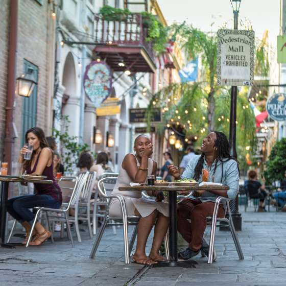 Outdoor Dining in New Orleans