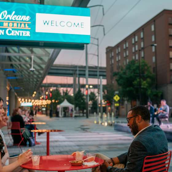 New Orleans Ernest N. Morial Convention Center Pedestrian Park