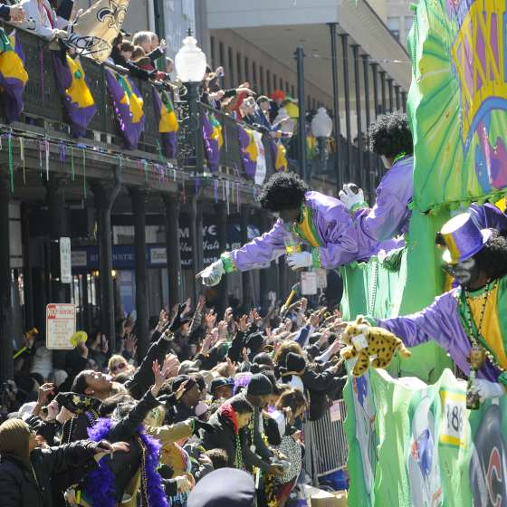 New Orleans Christmas Parade 2019 Mardi Gras | New Orleans