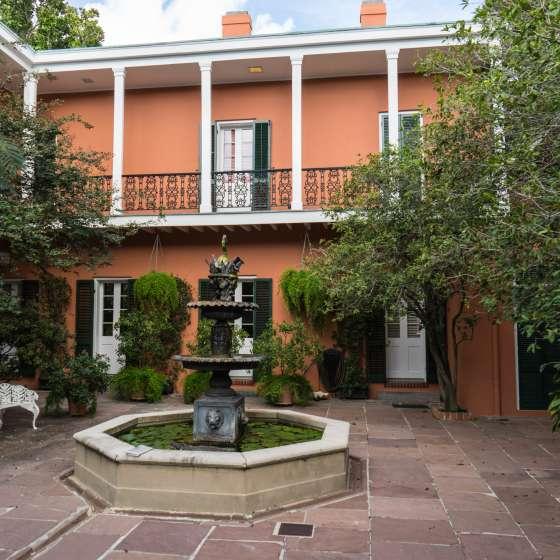 Beauregard Keyes Courtyard