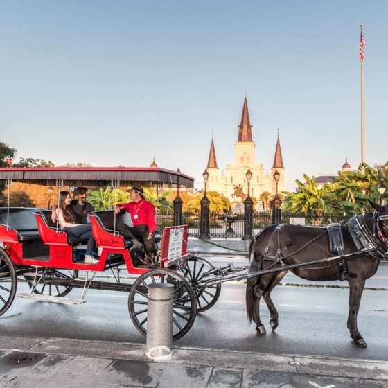 French Quarter Carriage ride