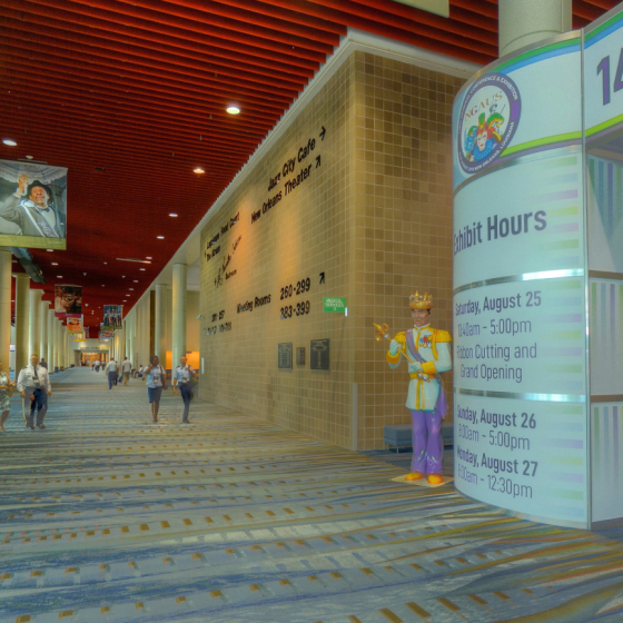 Ernest N. Morial Convention Center Hall H Lobby