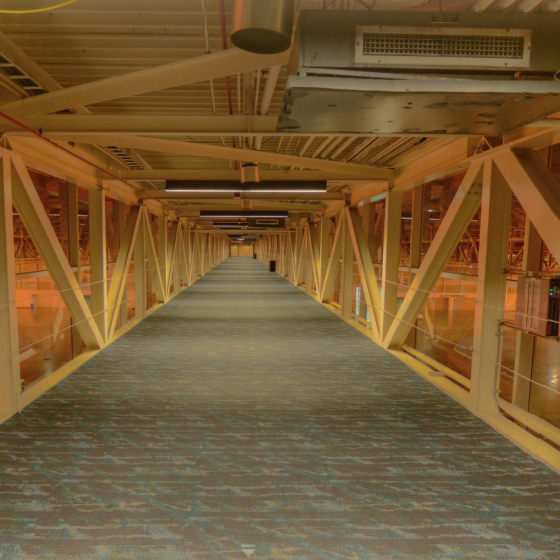 Ernest N. Morial Convention Center Level 2 Catwalk