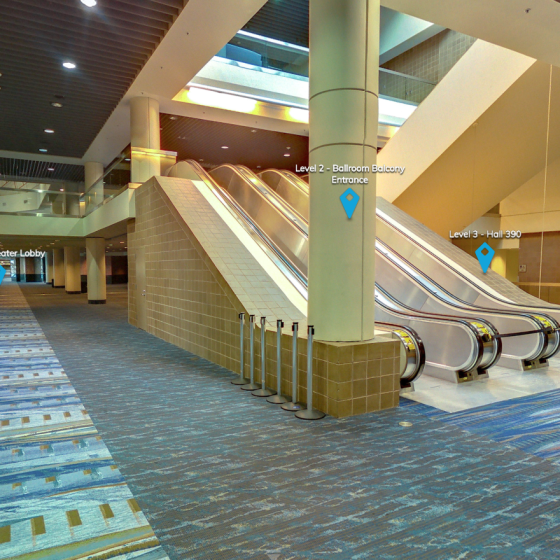 Ernest N. Morial Convention Center Level 2 Lobby