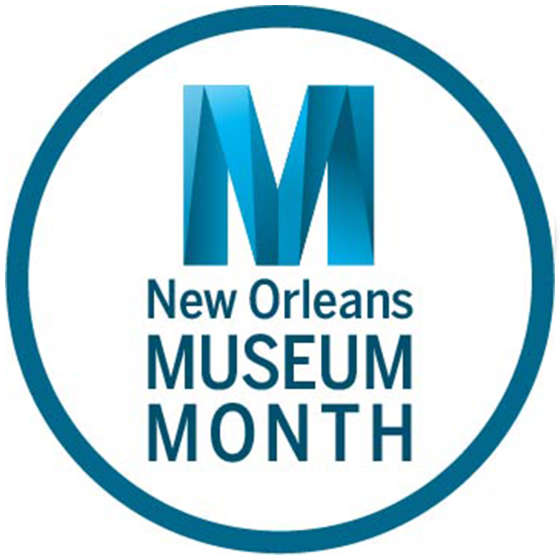 New Orleans Museum Month Logo